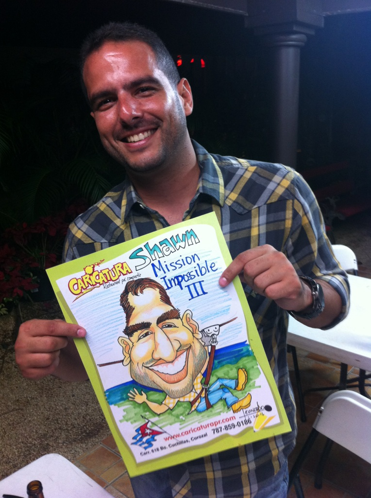 Caricatura Puerto Rico